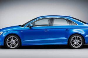 2017 Audi A3 facelift India side profile