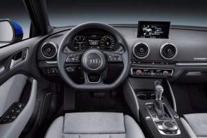 2017 Audi A3 facelift India interior