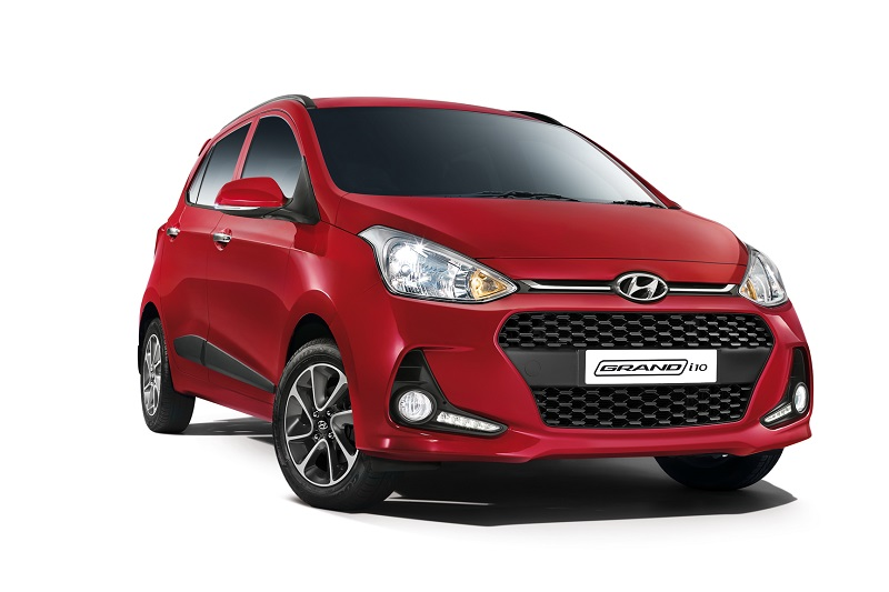 Best Petrol Cars Under 10 Lakhs - Hyundai Grand i10