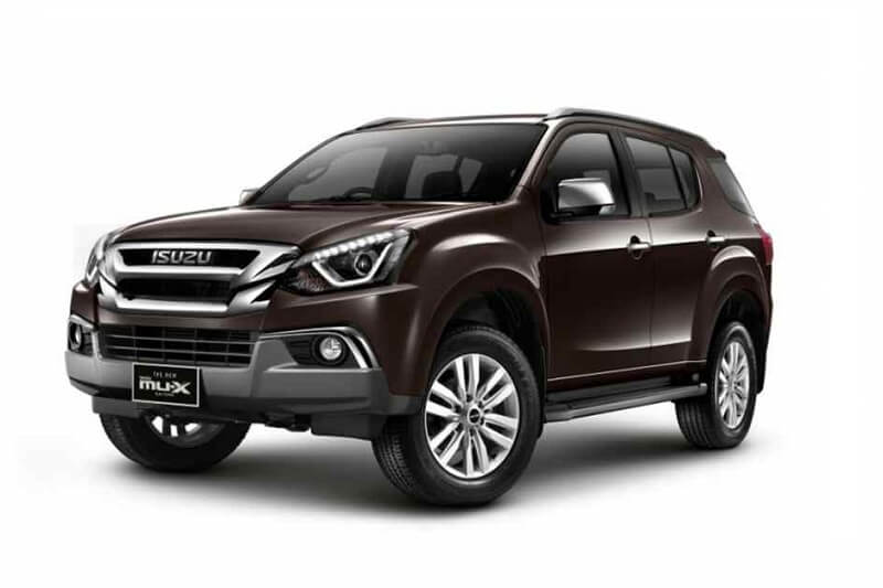 2017 Isuzu MUX India specs