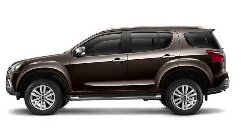 2017 Isuzu MUX India price