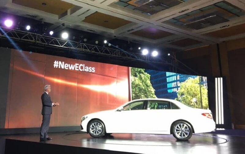 2017 Mercedes E Class LWB India