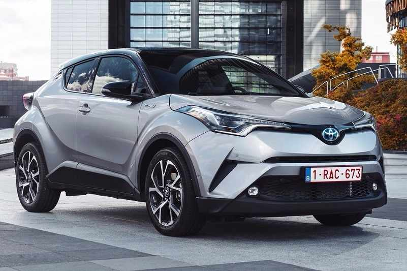 2017 Toyota CHR India front side