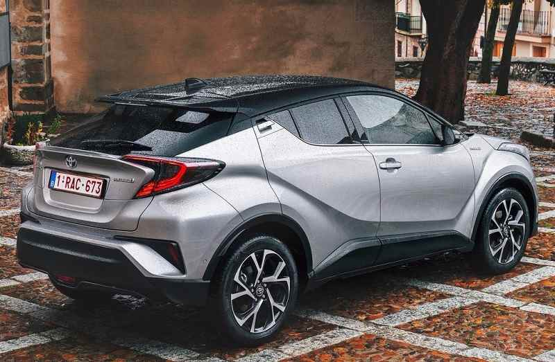 2017 Toyota CHR India rear profile