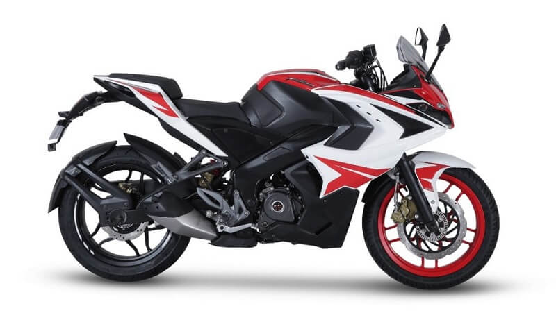 2018 Bajaj Pulsar RS200 Racing Red