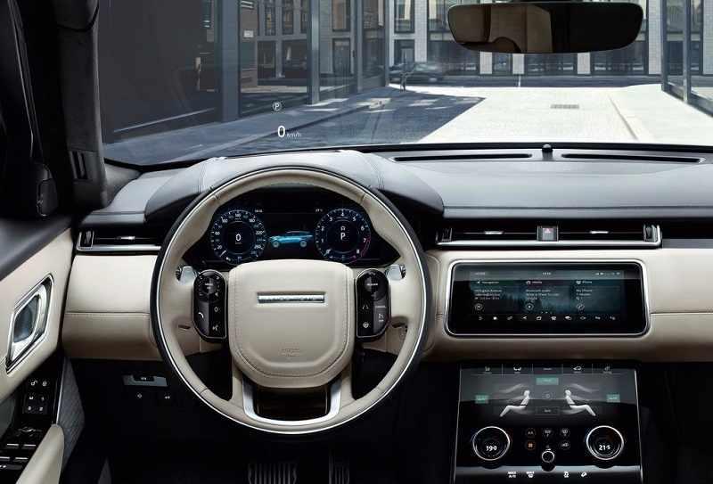 2018 Range Rover Velar India interior