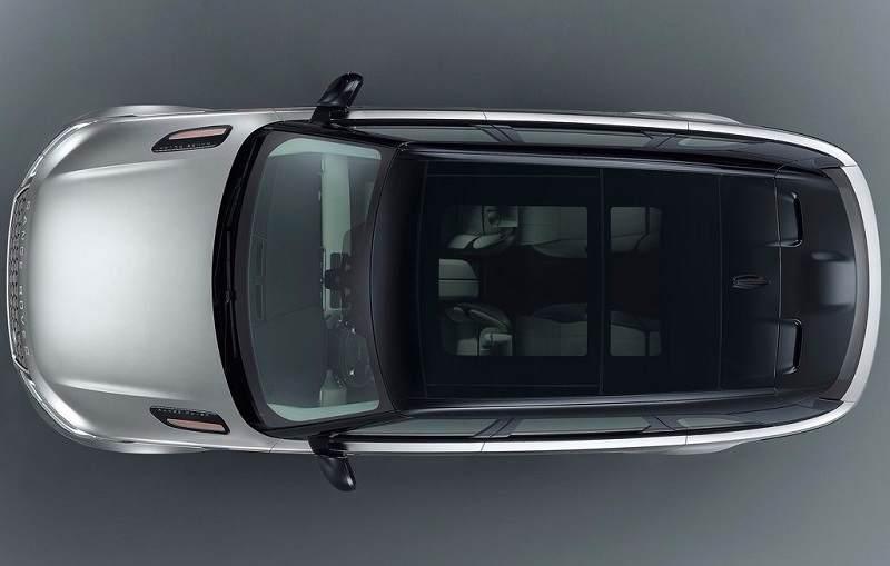 2018 Range Rover Velar India top view