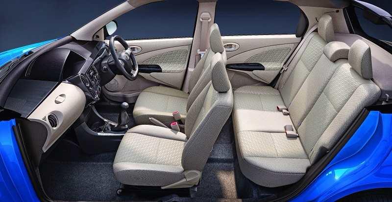 Toyota Etios Liva Dual tone interior