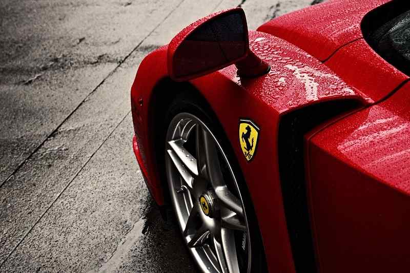 Ferrari World's strongest auto brand