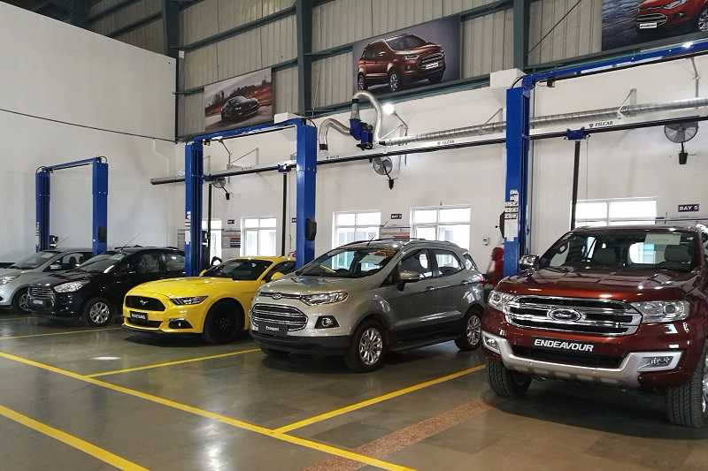 Ford India Service Cost