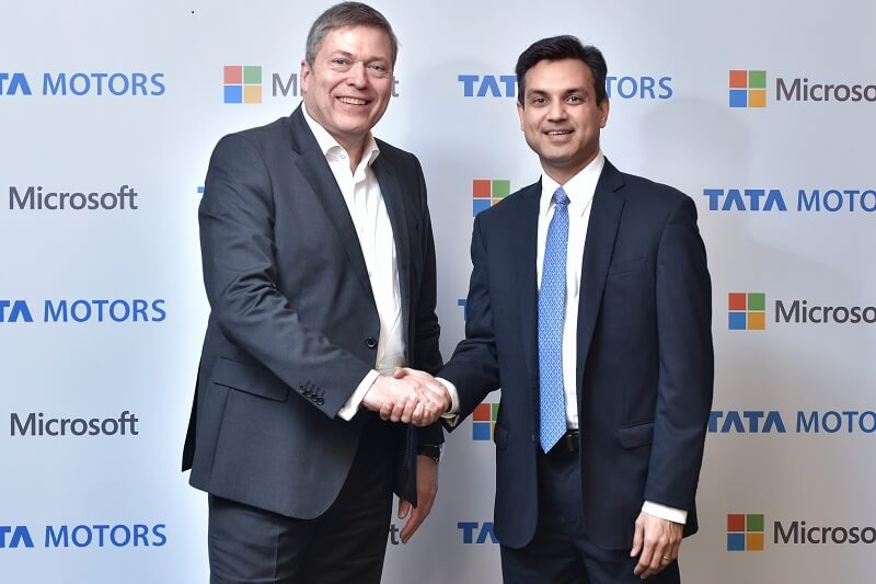Tata Motors Microsoft partnership