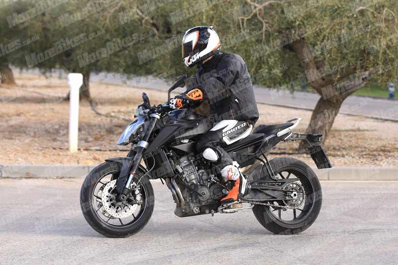 KTM Duke 790 India Spied
