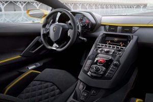 Lamborghini Aventador S India interior