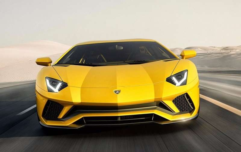 Lamborghini Aventador S India front
