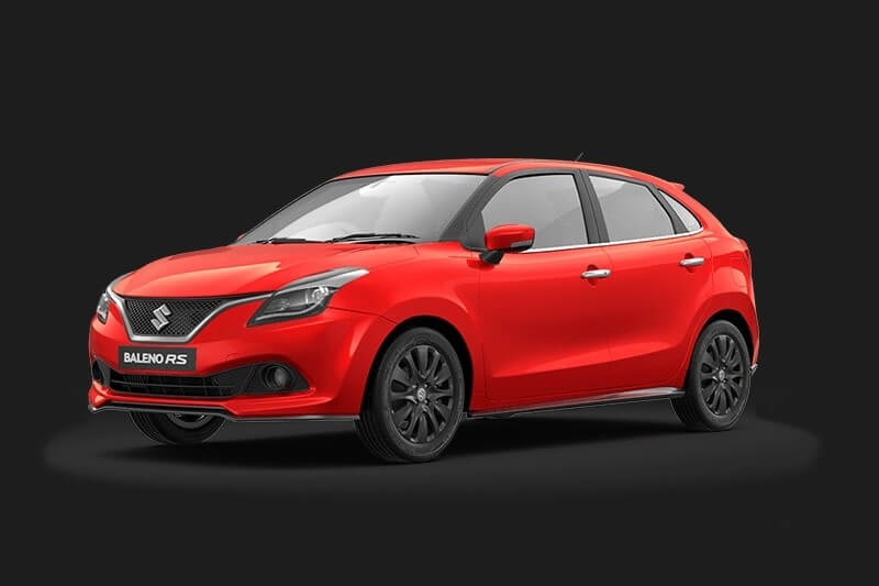 Maruti Baleno RS India side profile