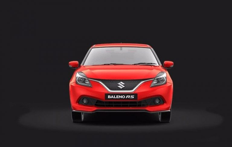 Maruti Baleno RS India front