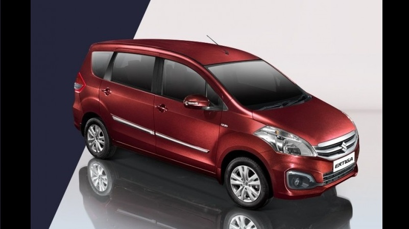 2017 Maruti Ertiga Limited Edition