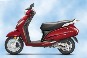 New Honda Activa 125 Red