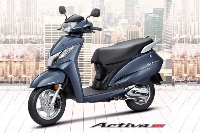 New Honda Activa 125 scooter