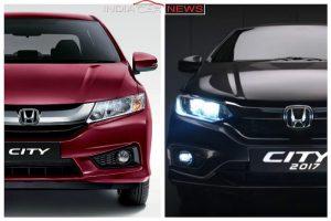 New 2017 Honda City Vs Old Honda City features