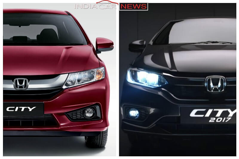 New 2017 Honda City Vs Old Honda City features