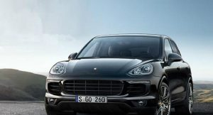 Porsche Cayenne S Platinum Edition India front