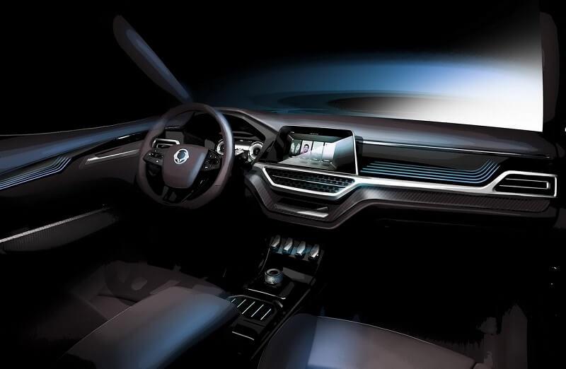 SsangYong XAVL SUV Concept Interior