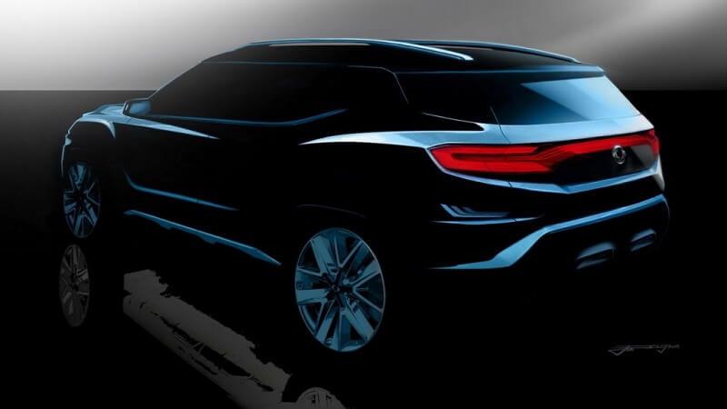 SsangYong XAVL SUV Concept Rear