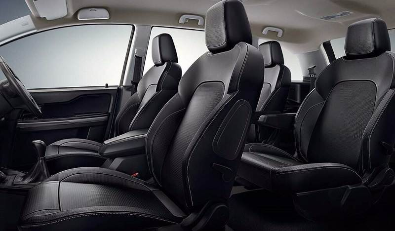 Tata Hexa interior seats