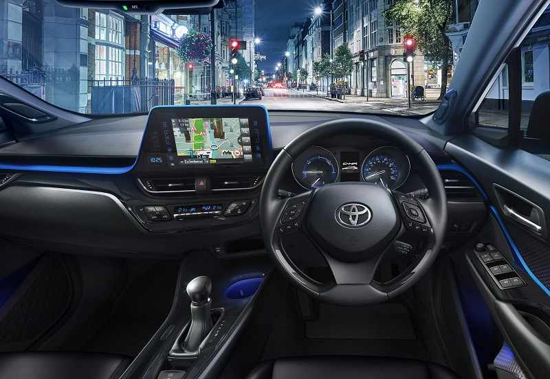 Toyota CHR India Interior