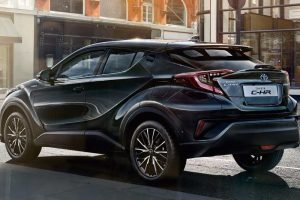 Toyota CHR Rear Three Quarter