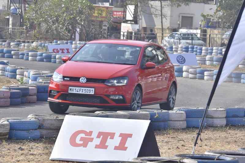 Volkswagen GTI Delhi Drive
