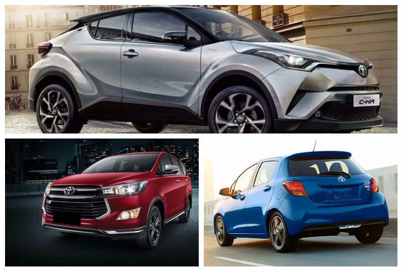 Upcoming New Toyota Cars in India 2017 2018  5 Cars