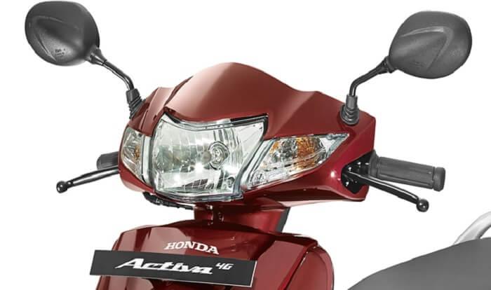 2017 Honda Activa 4G headlight