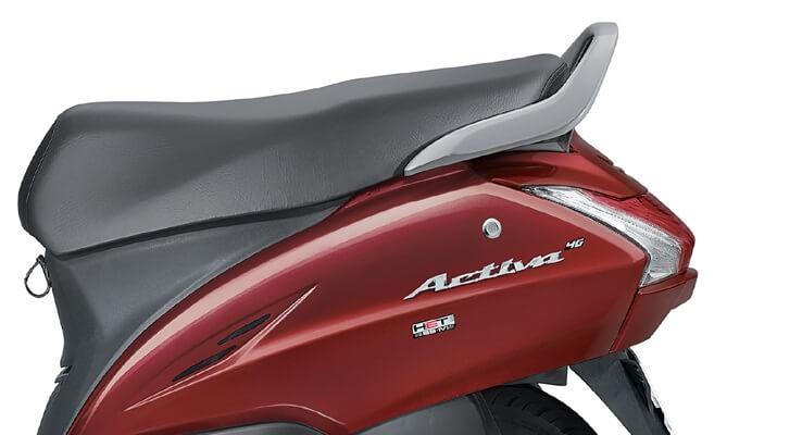2017 Honda Activa 4G seat