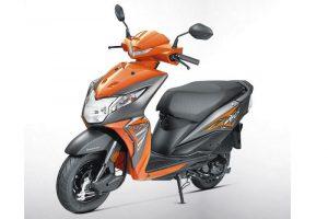 2017 Honda Dio Orange