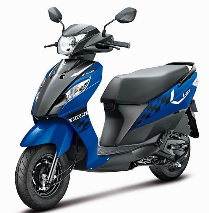 2017 Suzuki Let's BSIV