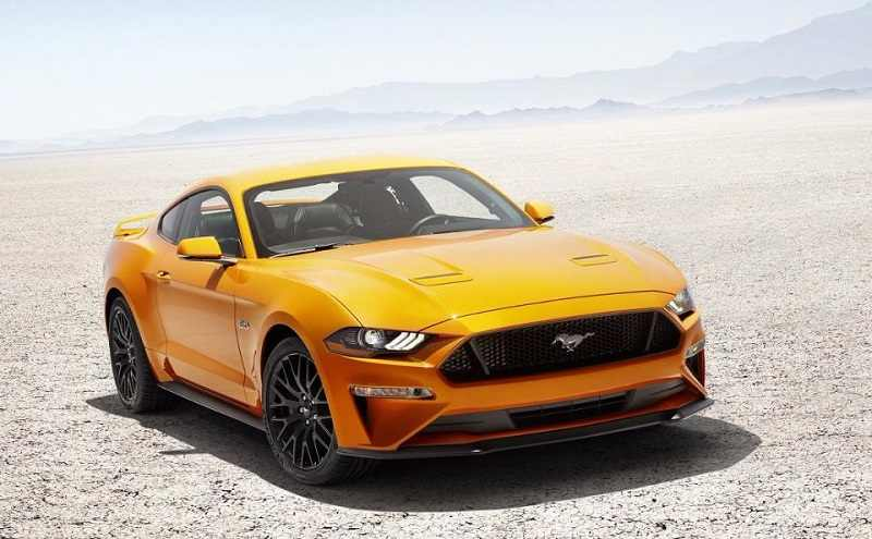 2018 Ford Mustang upcoming ford cars in india