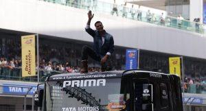 2017 Tata Motors T1 Prima Truck Racing Akshay Kumar