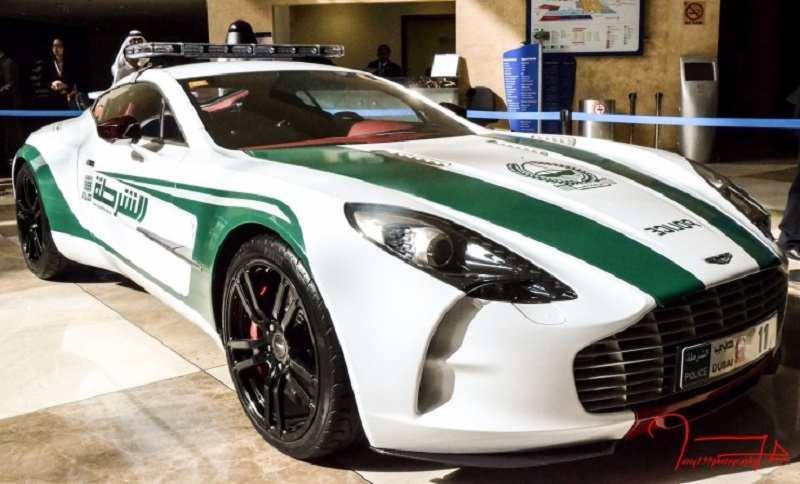Dubai Police Aston Martin One 77