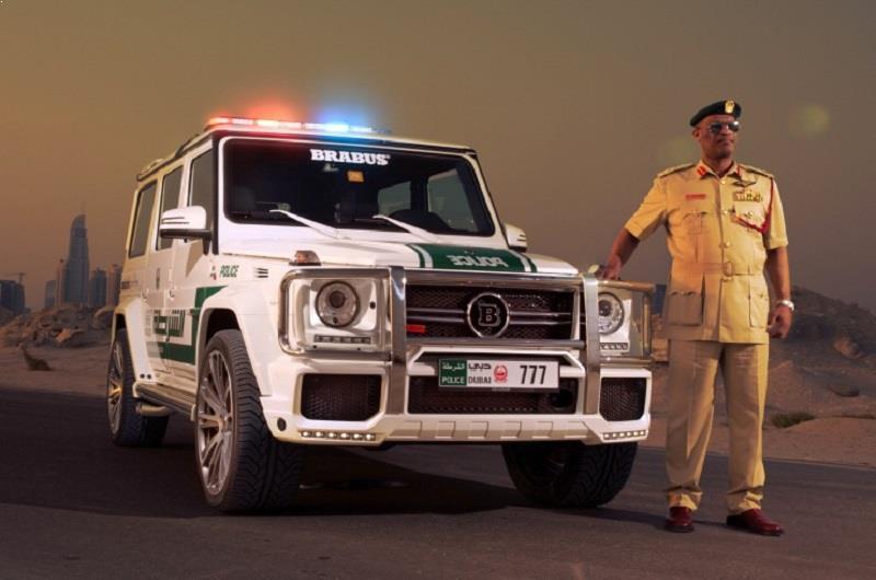 Barbus G 700 Dubai Police