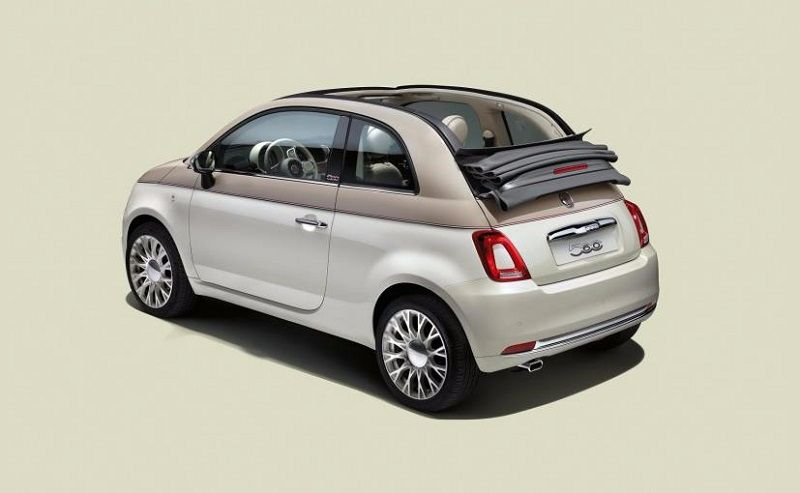 Fiat 500 60th Edition rear