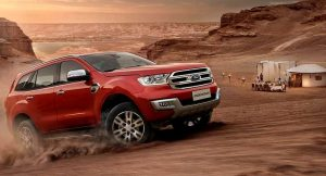 Ford Endeavour SUV Getaway