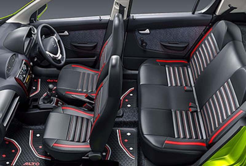 Maruti Alto K10 Plus Edition interior