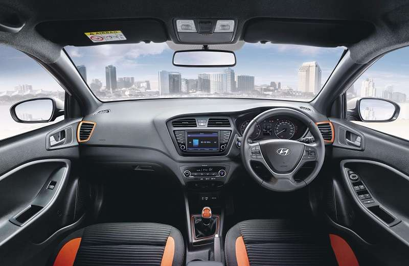 2017 Hyundai Elite i20 Interior