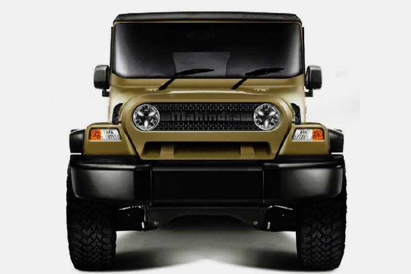 New Mahindra Thar 2018 Rendered