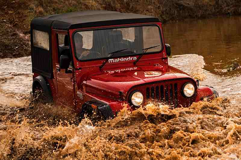 New Mahindra Thar 2018 India