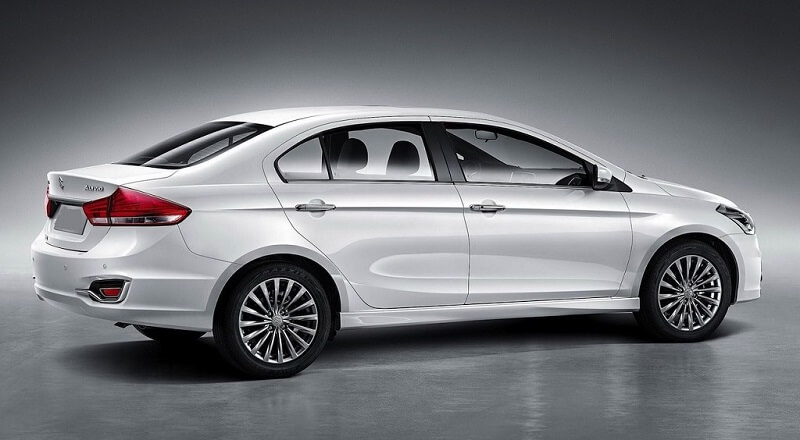 New Maruti Ciaz 2018 Facelift rear side
