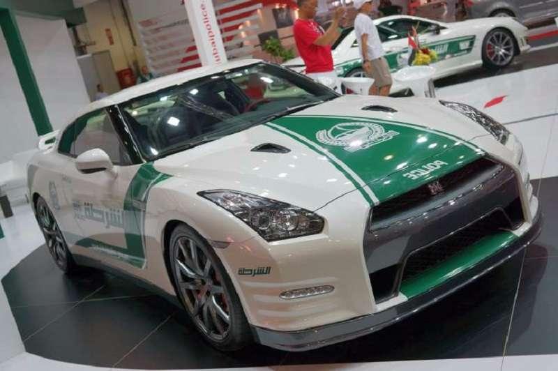 Dubai Police Nissan GTR