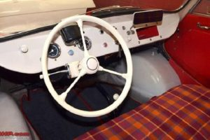 Scootacar interior